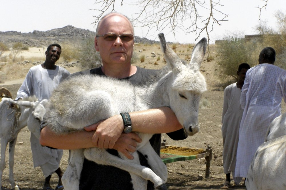 Drygas on location in Sudan for Hear Us All (2009)