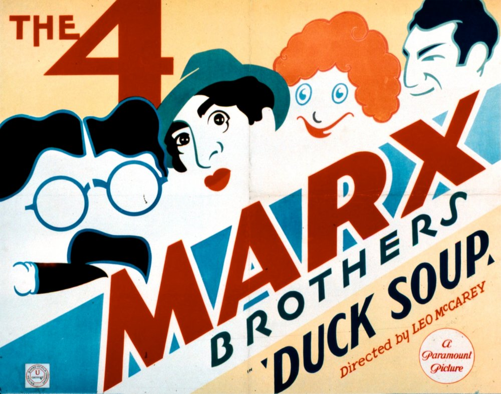 The recipe for the Marx Brothers' greatest comedy: Duck Soup