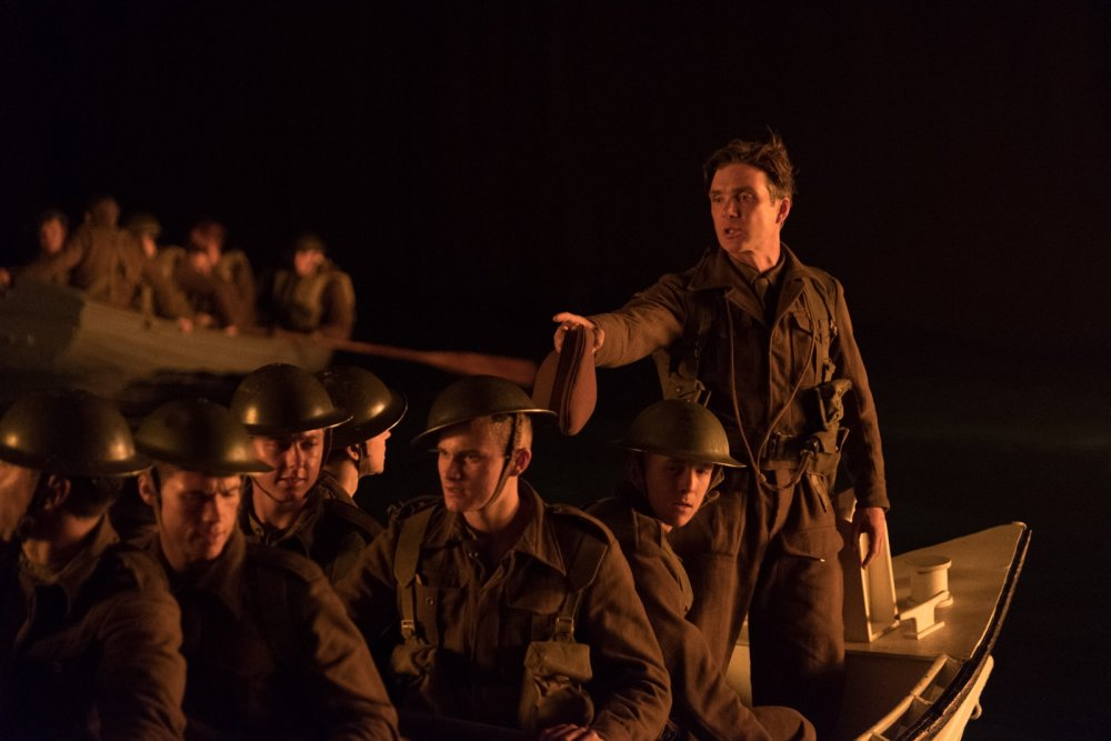 Cillian Murphy as 'shivering soldier'