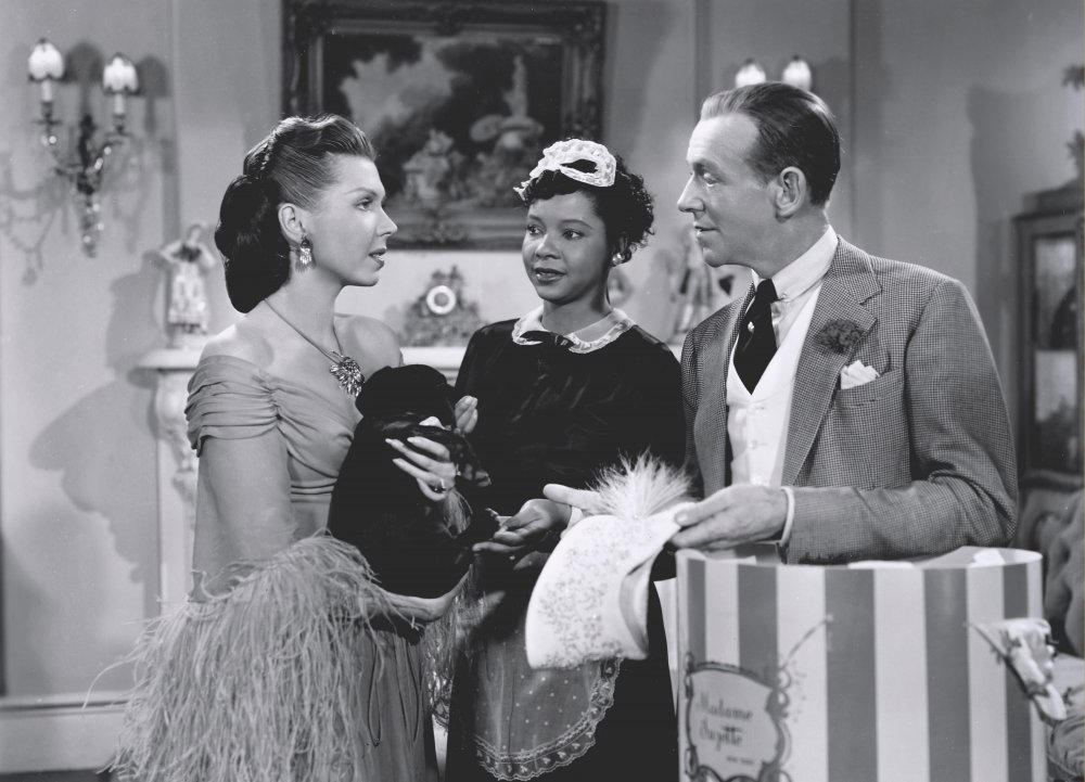 Always the maid… Jeni LeGon with Ann Miller and Fred Astaire in Easter Parade (1948)