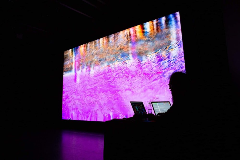 Jacques Perconte's live expanded cinema performance The Eighth Alps 'leaves you bodily reeling'