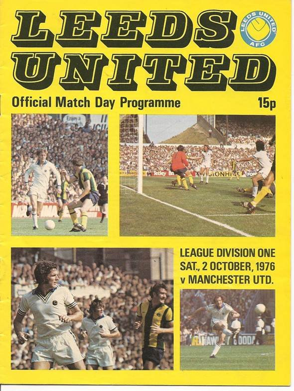 The match day programme