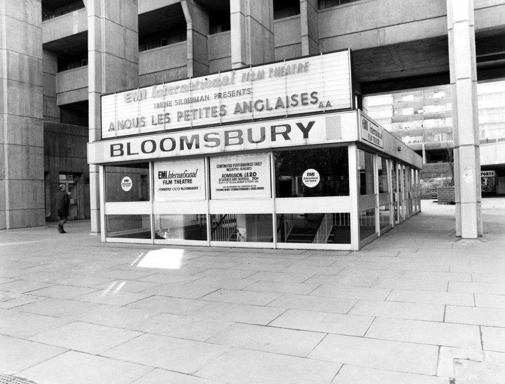 EMI International Film Theatre (now Curzon Renoir), London, 1976