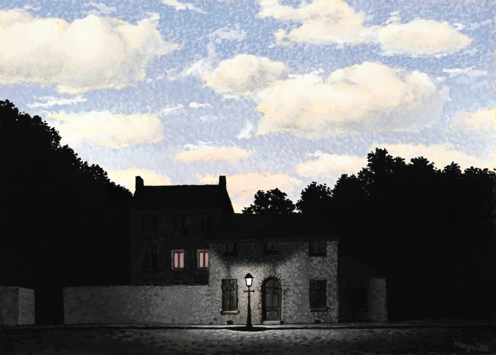 'The Empire of Lights' by René Magritte