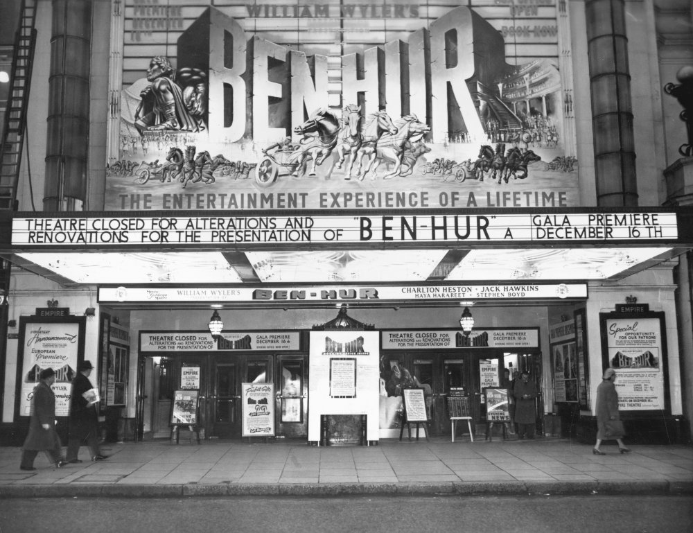The Empire Theatre (now The Empire Leicester Square), London, 1959