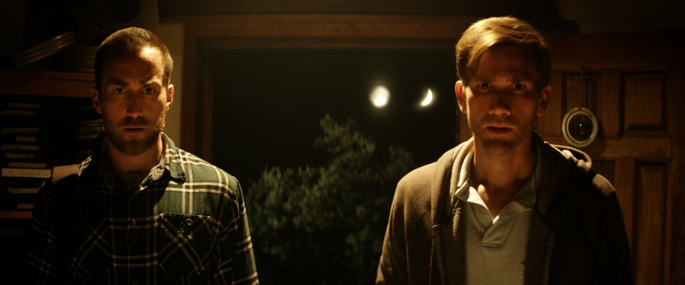 Director-stars Justin Benson (left) and Aaron Moorhead (right) in The Endless
