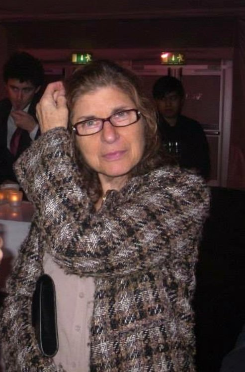 Pam Engel at a London Film Festival party in 2012