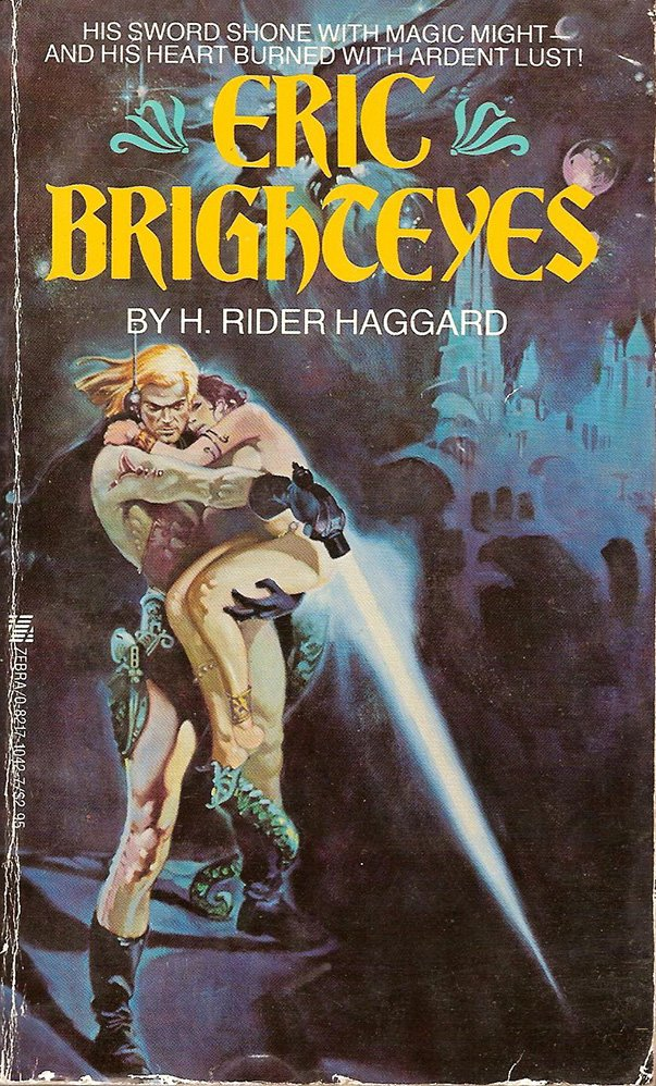 Eric Brighteyes (H. Rider Haggard, 1890) book cover