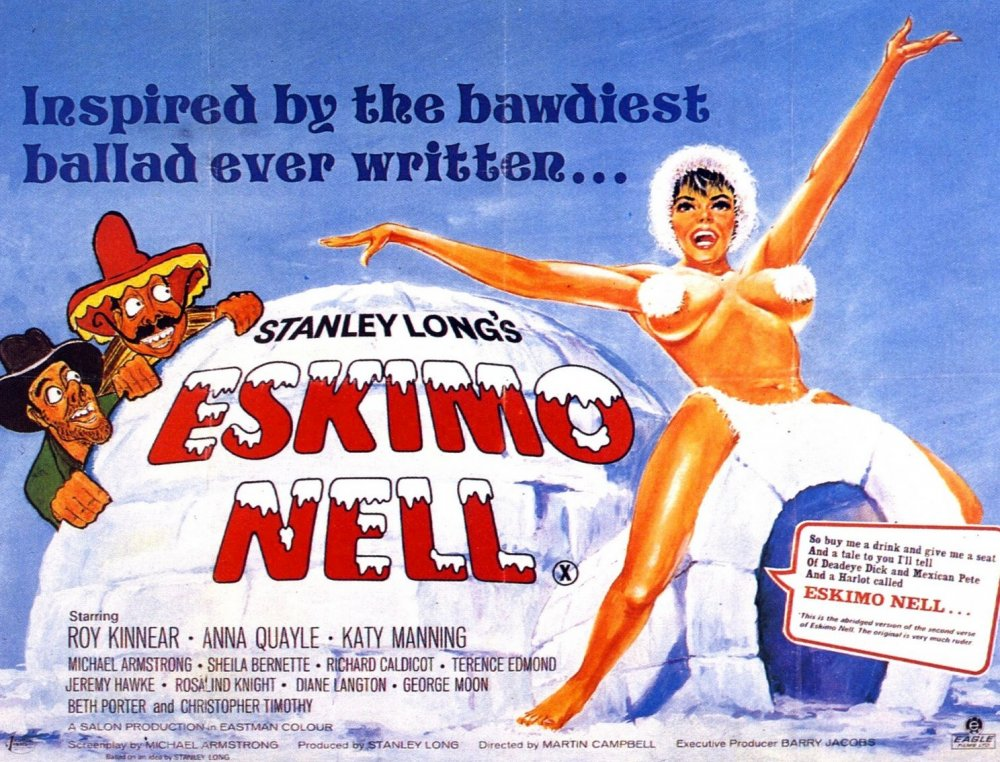 Poster for Eskimo Nell (1974)
