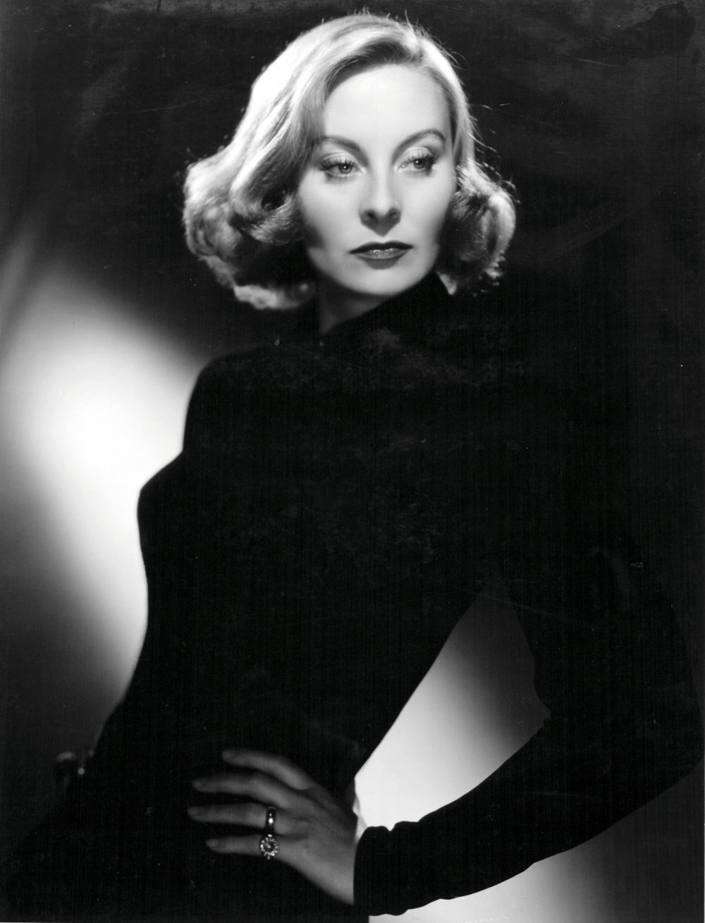Michèle Morgan in a publicity shot for The Fallen Idol (Carol Reed, 1948)