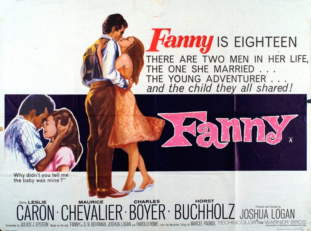 Fanny (1961) poster