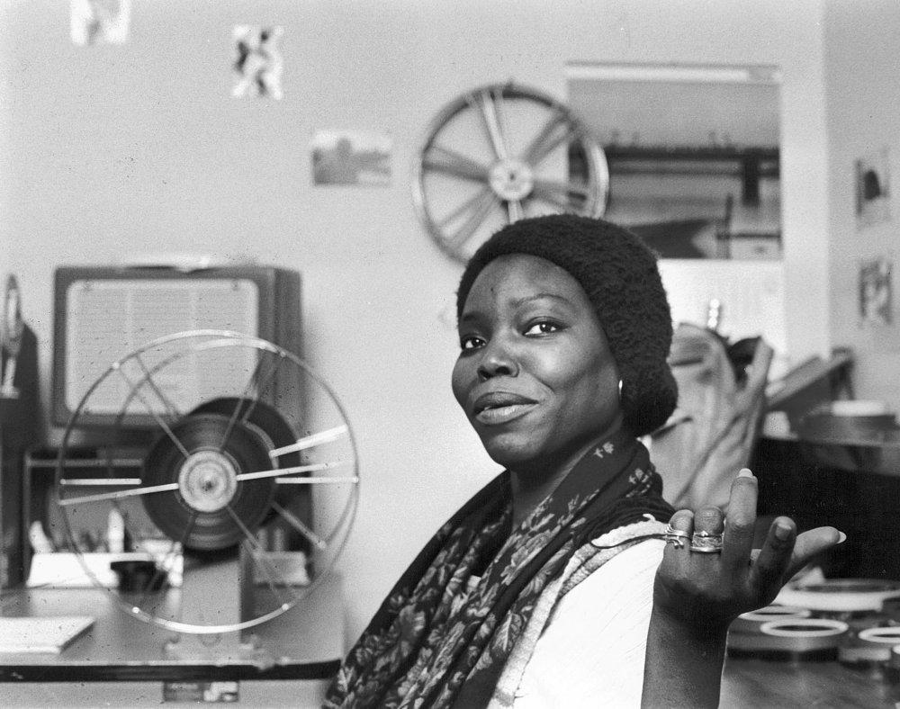 Senaglese director and ethnologist Safi Faye