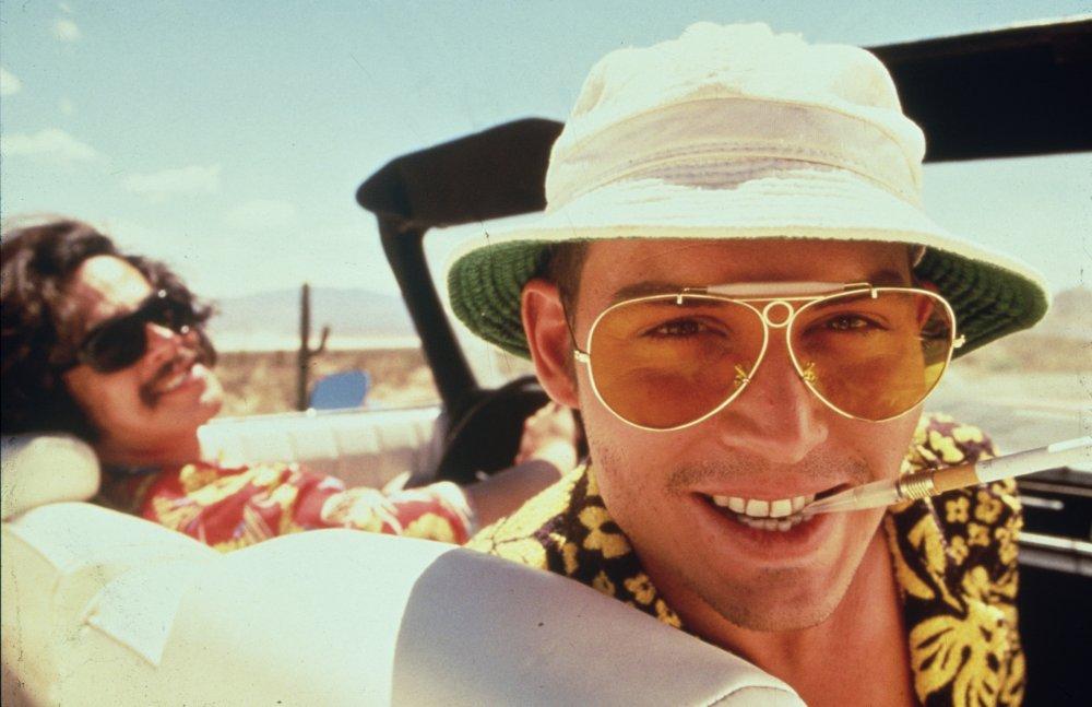 Raoul Duke (Johnny Depp) in Fear and Loathing in Las Vegas (1998)