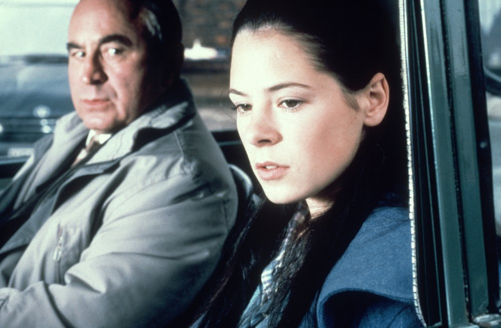 Atom Egoyan's 1999 film Felicia's Journey has Hoskins as a middle-aged man who helps an Irish teenager in her search for the boyfriend who made her pregnant