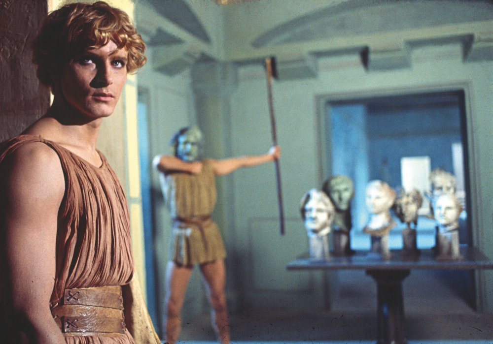 When in Rome: Satyricon (1969) was one of many Fellini films to shoot at Cinecittà studios