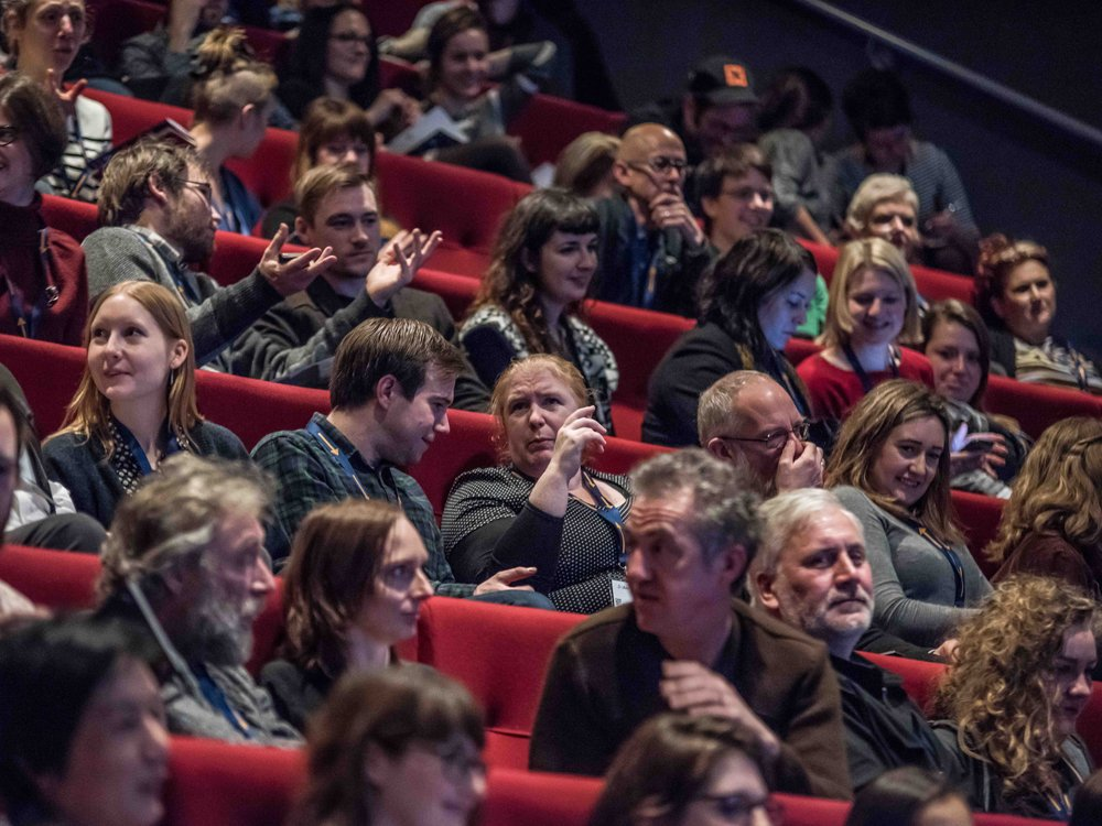 Audience at This Way Up 2017
