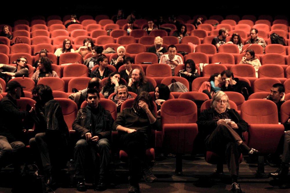 Before a screening of Sátántangó