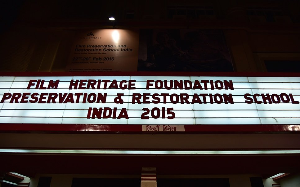Film Preservation and Restoration School, India, 2015