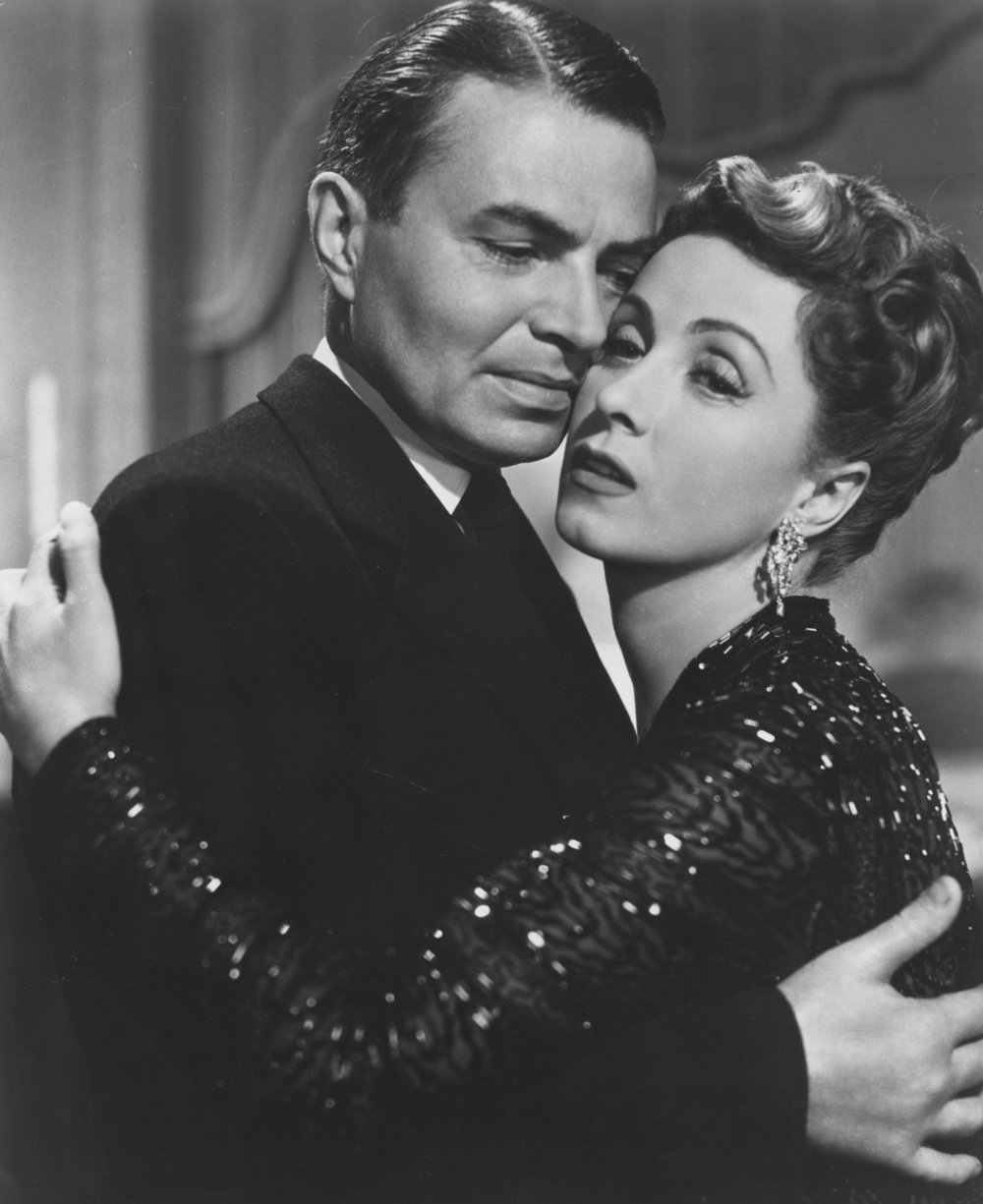 James Mason and Danielle Darrieux in Five Fingers (1952)