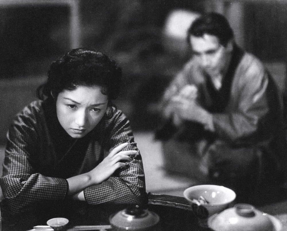 Takamine Jideko in Naruse Mikio's Floating Clouds (Ukigumo, 1955)