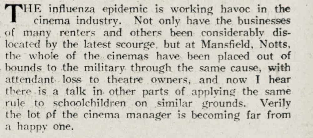 From The Bioscope, 11 July 1918