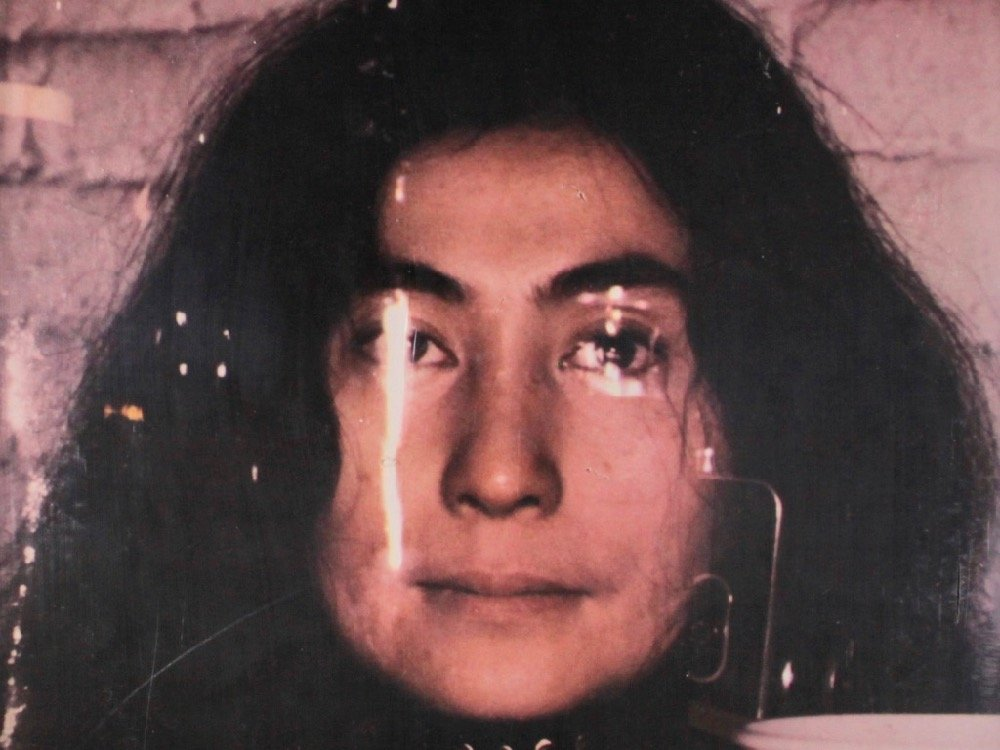 Yoko Ono on the album cover for Fly (1971)