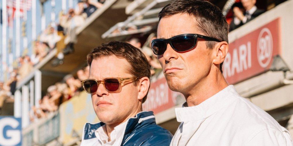 Matt Damon as Carroll Shelby and Christian Bale as Ken Miles in Le Mans '66 (aka Ford v Ferrari)