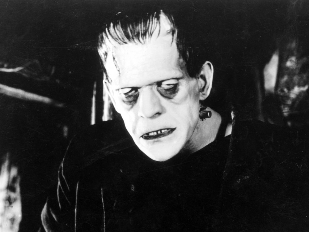 Image result for frankenstein movie karloff