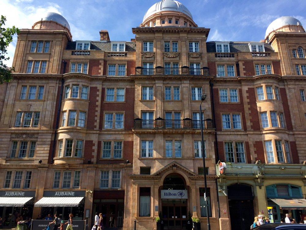 The London Hyde Park Hilton (formerly The Coburg Hotel, 2015)