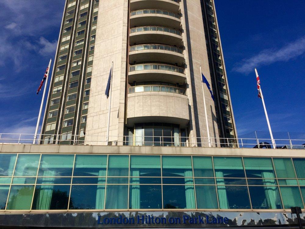 The London Hilton on Park Lane, 2015