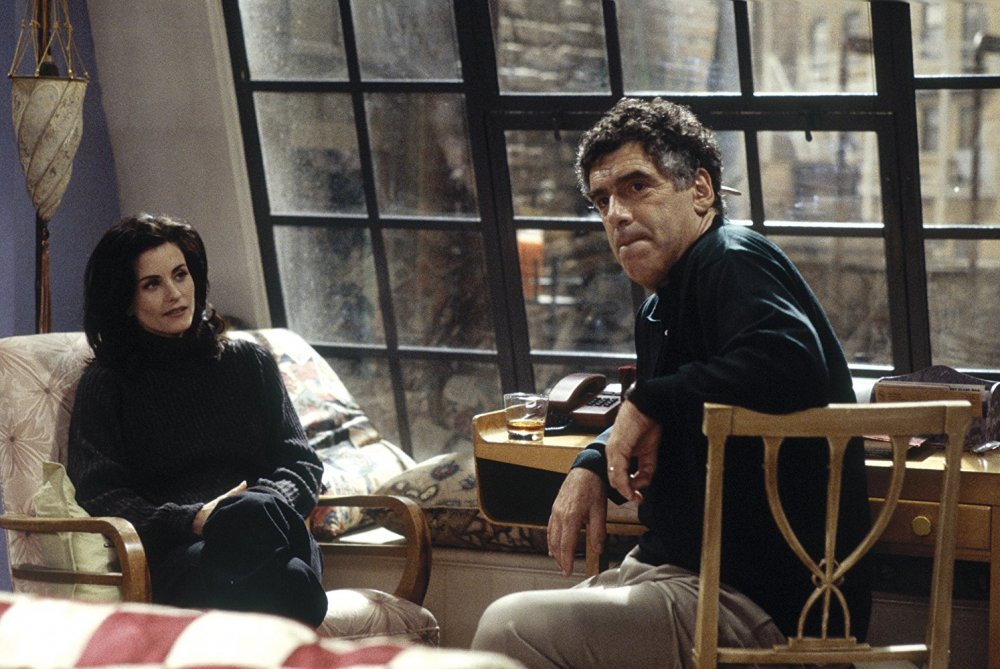 Elliott Gould with Courtney Cox in Friends (1994-2004)