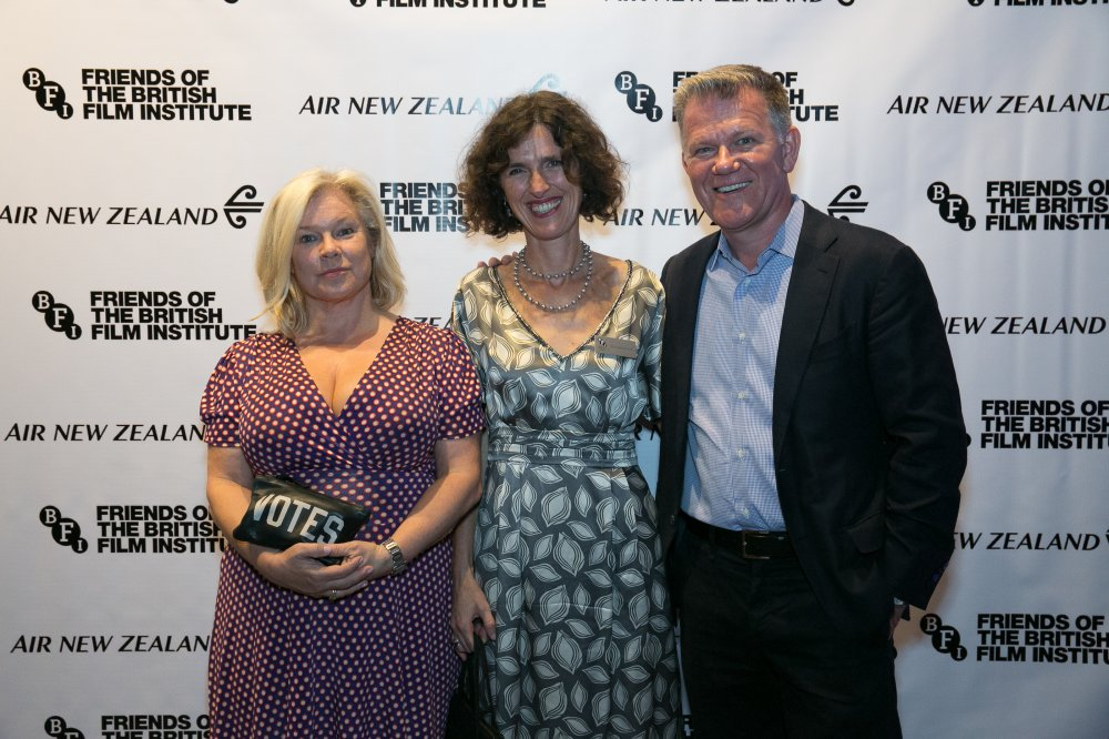 Producer Alison Owen with Director of Development at the BFI, Francesca Vinti, and Friends of the BFI Board Member Colin Walsh