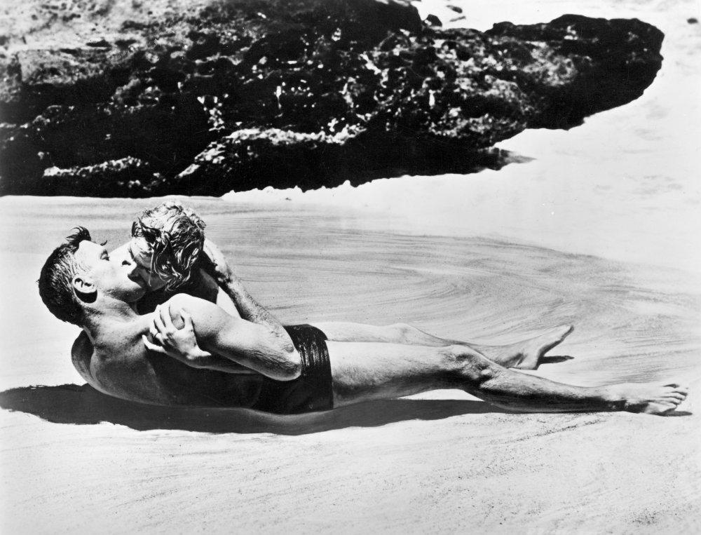 Burt Lancaster and Deborah Kerr in From Here to Eternity (1953)