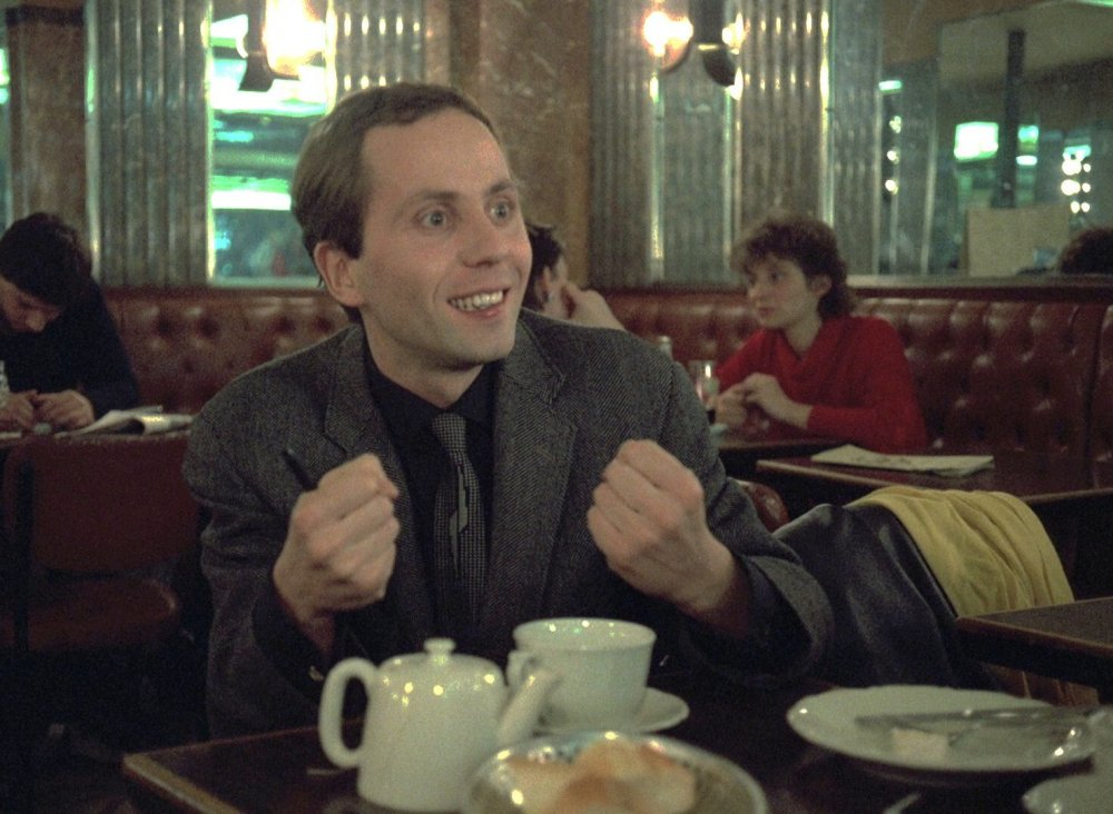 Fabrice Luchini in Eric Rohmer's Full Moon in Paris (Les Nuits de la Pleine Lune, 1984)