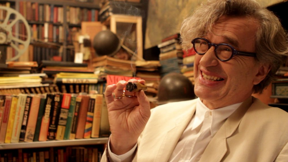 Wim Wenders reading for A Fuller Life (2013)