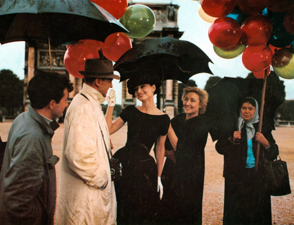 Fred Astaire and Audrey Hepburn in Funny Face (1956)