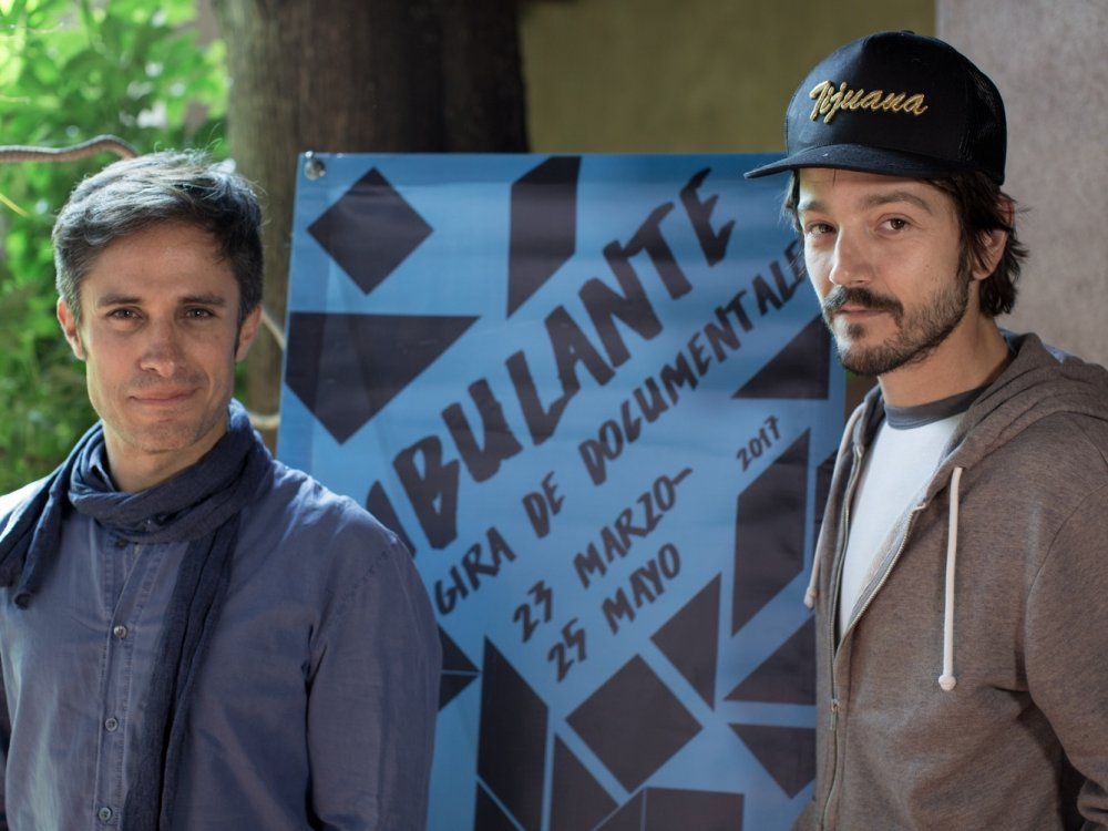 Gael García Bernal and Diego Luna launched a campaign to help the victims of the Mexico earthquake