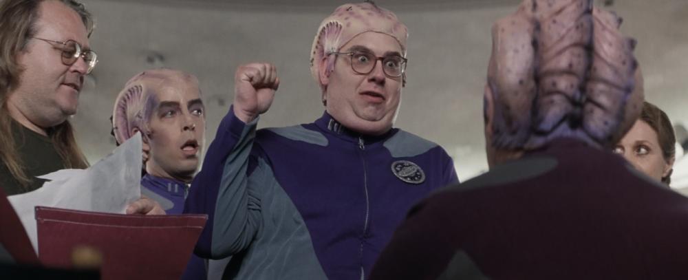The Trek-like fan convention in Galaxy Quest (1999)