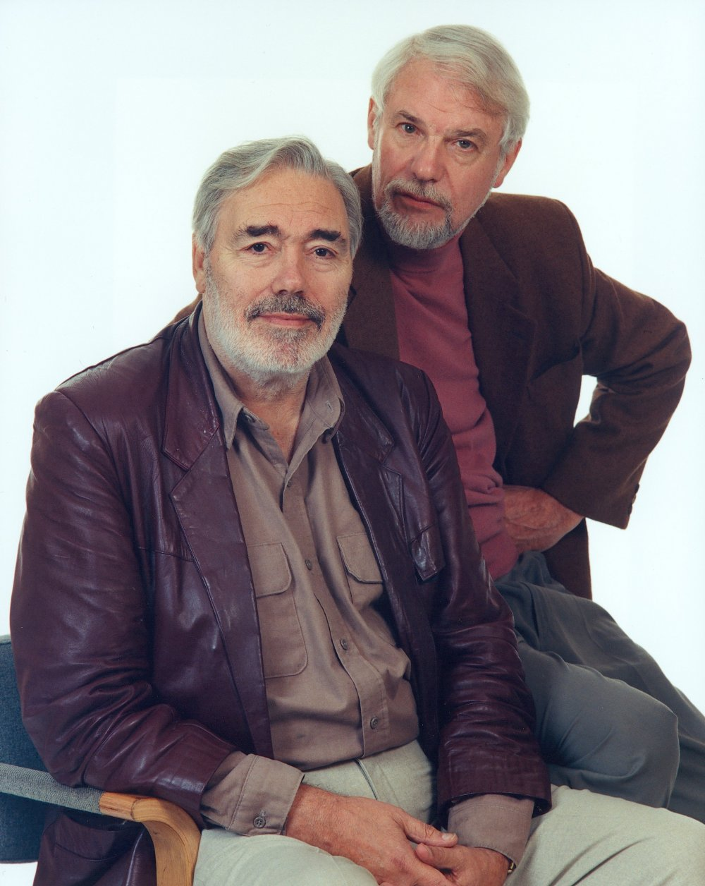 Ray Galton (left) with Alan Simpson