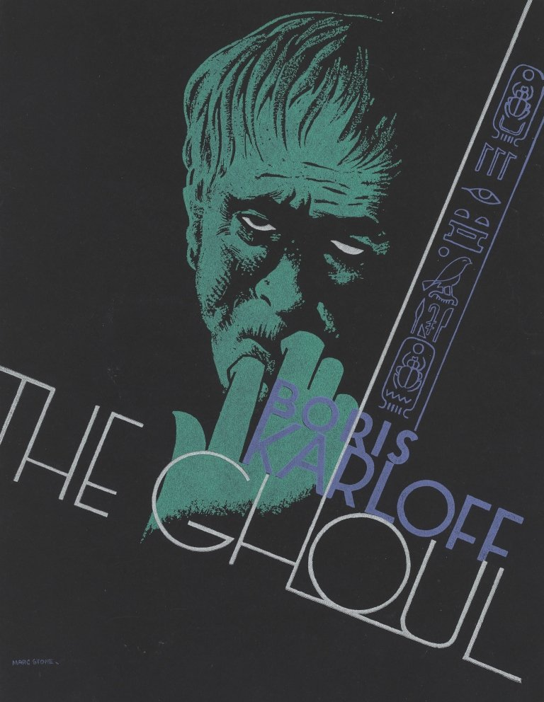 The Ghoul (1933) original press cover