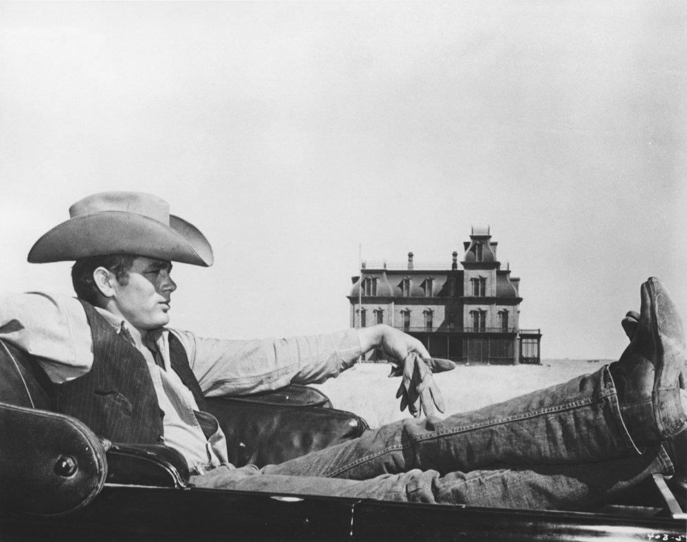 James Dean in George Stevens' Giant (1956)