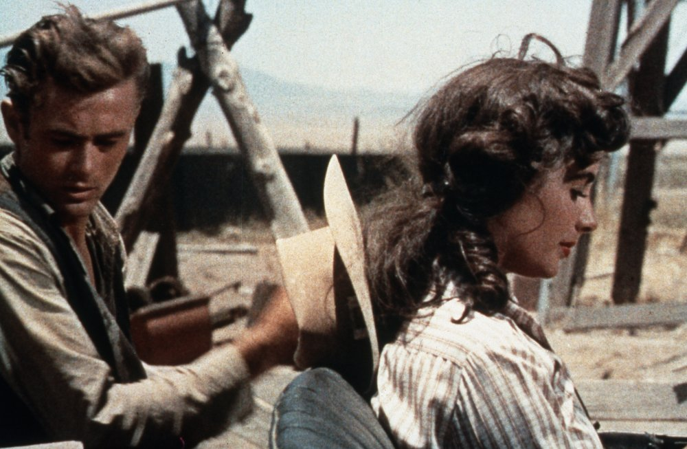 James Dean and Elizabeth Taylor in Giant (1956)