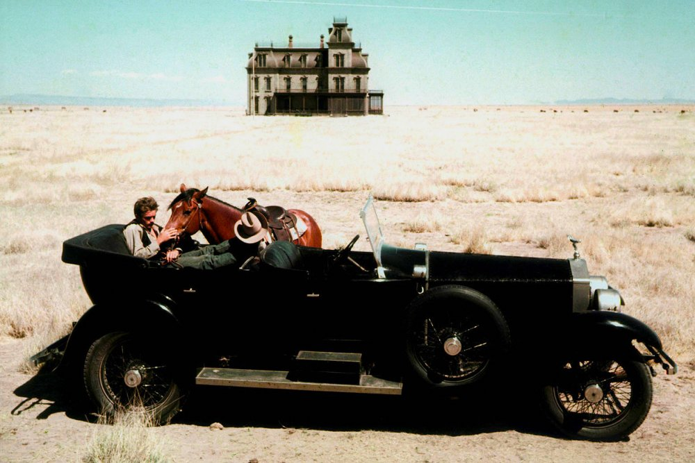 James Dean, and that big house, in Giant (1956)