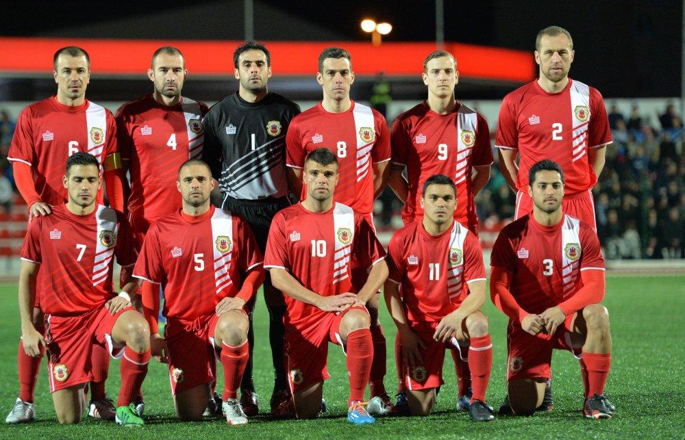 The Gibraltar national football team