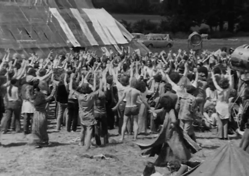 Glastonbury Festival and the First Pyramid Stage (1972)