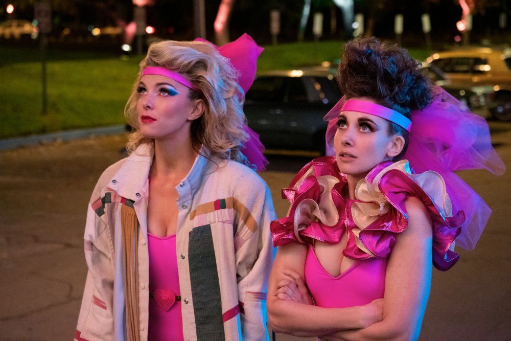 Betty Gilpin as Debbie and Alison Brie as Ruth in GLOW season 3