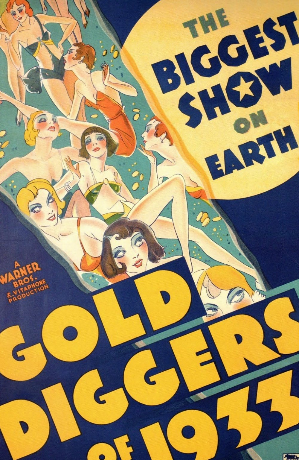 Gold Diggers of 1933 (1933) film poster