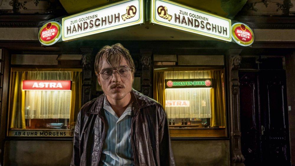 Jonas Dassler as Fritz Honka in The Golden Glove
