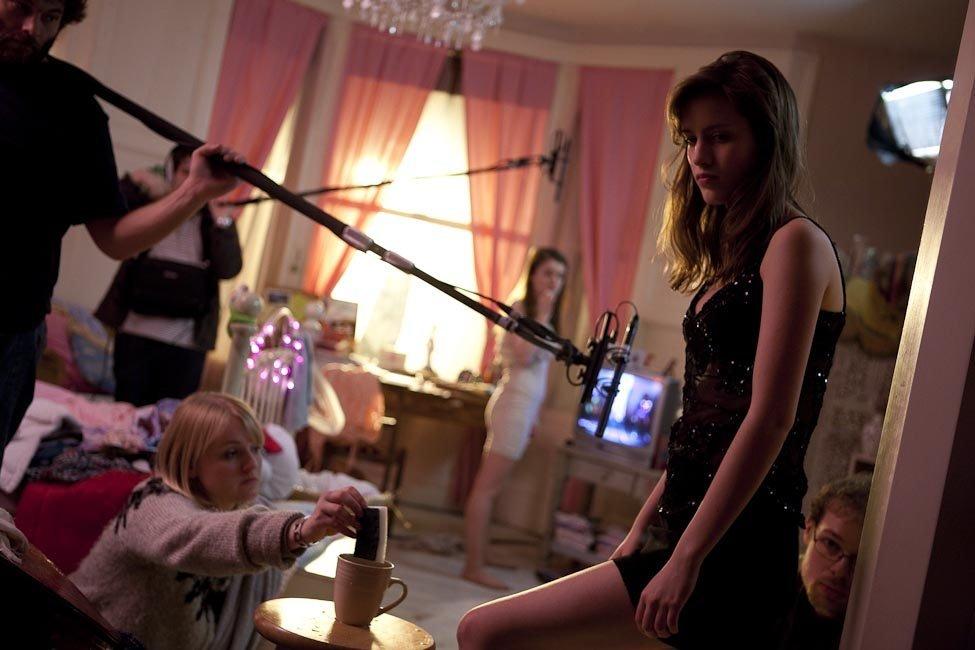 Filming Muriel D'Ansembourg's Good Night