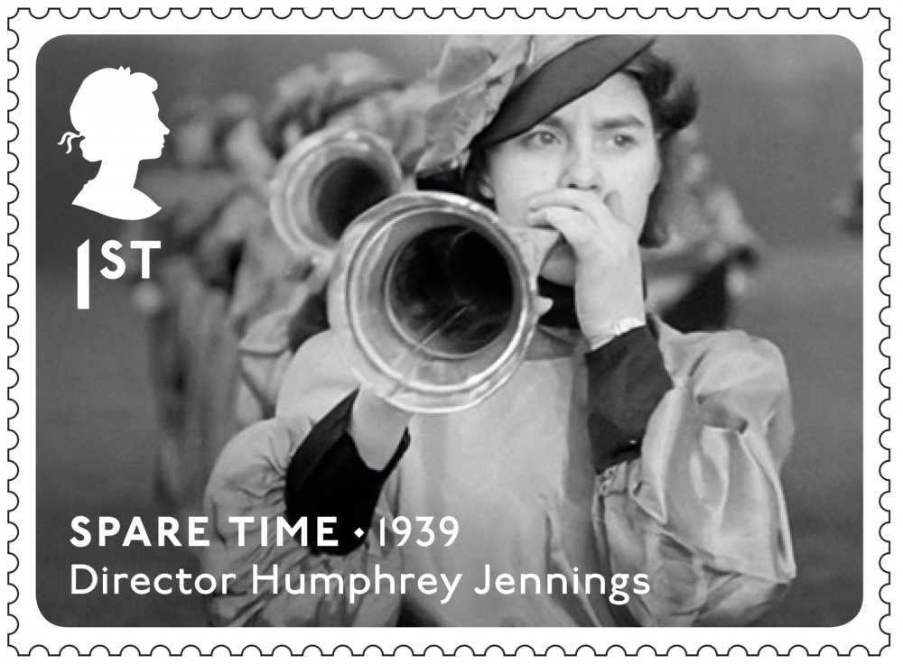 Royal Mail Great British Film stamp: Spare Time